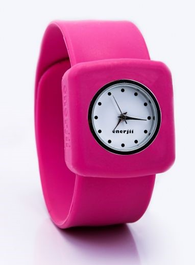 Snap On Watch (Pink)