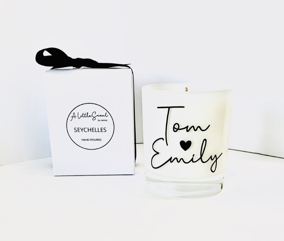 Seychelles Candle - Personalised